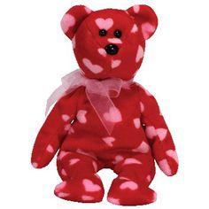 6e38a327e95 TY Beanie Baby - LITTLE KISS the Bear (Hallmark Gold Crown Exclusive) (8.5  inch)