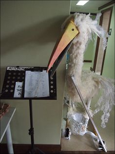 Puppet Idea....talking stork