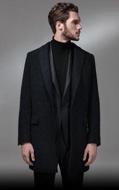 Black outfit - Tonello Autumn/Winter 2013-14 MAN