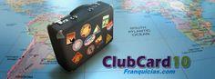 Logo Clubcard10franquicias.com, blog dedicado a la empresa de Network Marketing ClubCard10, el primera empresa española dedicada a los viajes.