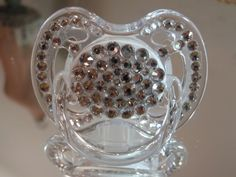 Crystallized Bling Baby Fashion Pacifier , Pacifiers, Infant,  http://www.fashionblings.com