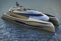 Ego Superyacht Catamaran - not a car but too badass not to post ...