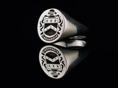 Custom Made Family Crest Rings by eoin moyles   Hatch.co