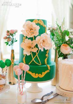... Emerald and Peach on Pinterest | Emerald green, Peaches and Emeralds
