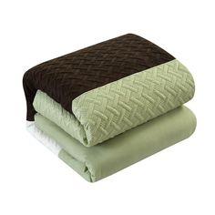Red Barrel Studio Fircrest 10 Piece Comforter Set & Reviews   Wayfair King Size Comforter Sets, King Size Comforters, Bedding Sets, King Pillows, Pillow Shams, Decorative Throw Pillows, Color Blocking, Barrel, Stitching