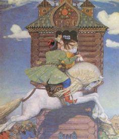 Humpbacked Horse - Viktor Vasnetsov