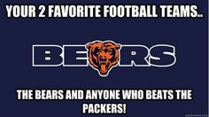 Anyone but the Packers.after Da Bears! Nfl Bears, Bears Football, Chicago Bears, Football Team, Football Baby, Nfc North, Bear Signs, Walter Payton, Football Conference