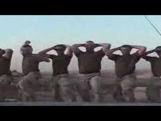 marines dancing in iraq