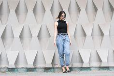 Eu ando viciada em vintage jeans...Quem ai tb gosta?