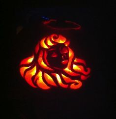 Entry 1.  Princess themed pumpkin by Esther. #Halloween #MarieChantal #MCHalloweenCompetition