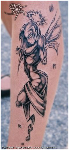 Bring Your Imagination With Fairy Tattoo Designs, free fairy tattoo designs, gothic fairy tattoos