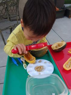 fall themed preschool science and exploration