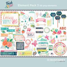 Fresh Cut Element Pack 3