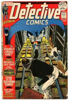 Detective Comics #424 first appearance of She-Bat