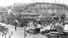 What Sunnyside looked like before the Gardiner arrived  Roller Coaster 1928