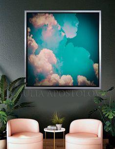 #celestial #watercolor #cloud #painting #canvas #art #clouds #abstractart #cloudpainting #cloudart #print #skyart #teal #abstractartpaintin #trending #pinterest #rosegold #prints #decor #officedecor #interior #homedecor #walldecor #abstractart #pastel #canvasart #wallart #Etsy #overlay #zenart #JuliaApostolova #minimalist #minimalart #nursery #kidsroom #bedroom #bedroomdecor #cloudpaintings #SkyOverlay #JuliaApostolovaArt #artprintsforsale #minimalart #office Painting Canvas, Canvas Frame, Painting Prints, Canvas Art, Colorful Wall Art, Large Wall Art, Framed Art, Watercolor Clouds, Cloud Art