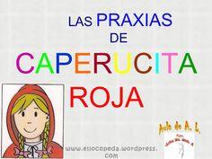 Caperucita praxic by juanmamaestroal via slideshare Speech Therapy, Teacher, Classroom, School, Speech Pathology, Autism, Early Childhood, Reading, Class Room