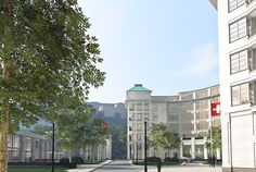 KURPARK ENGELBERG - HILMER SATTLER ARCHITEKTEN