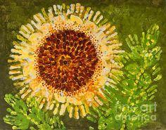 Sunflower Print By Kindergarten
