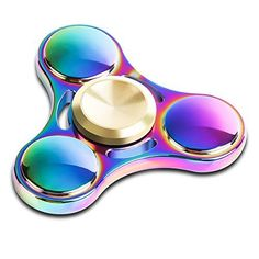Spinning Every day! Gorgeous unique shape tri spinner is mini enough to put your pocketcarrying it every day! Fidget toy is suitable for adults and kids having fun anytime. Better Grip Faster Spin!