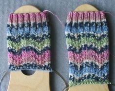 Gails Petticoat birthday socks in progress