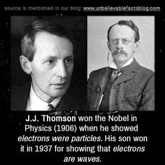 Joseph John Thomson dilahirkan pada 18 Oktober 1856 di Manchester, England, Inggris. Dia sangat tertarik dalam ilmu pengetahuan. Orangtuanya berharap dia akan menjadi seorang insinyur magang di perusahaan lokomotif. Namun harapan itu musnah, dengan kematian ayahnya saat ia berusia 16. Ibunya juga tidak mampu membiayai biaya magang tekniknya yang tinggi. Tetapi keadaan ini tidak mematahkan semangatnya. Ia mampu mendapatkan beasiswa untuk belajar matematika dan menjadi ilmuan terkenal.