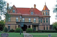 Overholser Mansion Oklahoma City, Very cool and only 5 bucks, the interior is all from original tenants!