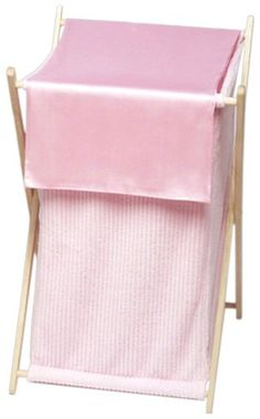 Sweet Jojo Designs Baby and Kids Clothes Laundry Hamper - Pink Chenille and Satin Sweet Jojo Designs http://www.amazon.com/dp/B00154P3WU/ref=cm_sw_r_pi_dp_KSAlvb1AZJTRX