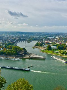 Mosel and Rhine, German corner