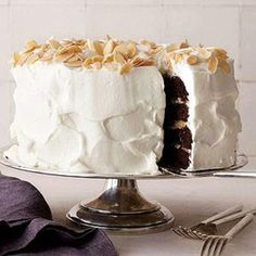 Almond Joy Layer Cake - Rachael Ray Every Day