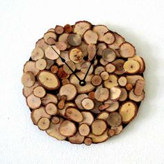 Decorative Wood Wall Clock.