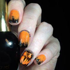 Tips and Topcoat: Simple Pumpkin