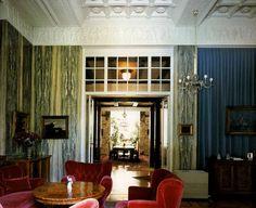 Adolf Loos | Architecture   Villa Duschnitz, 1915-1916, Blick aus dem Musikzimmer ins Speisezimmer mit Wintergarten