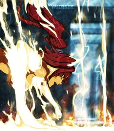 Bleach- Yoruichi god of thunder colo by WERSHE.deviantart.com on @DeviantArt