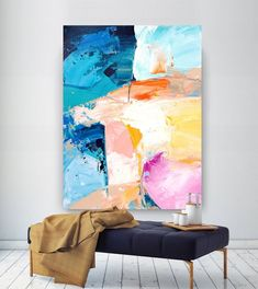 """Obtain great pointers on """"contemporary abstract art painting"""". They are offered . - Obtain great pointers on """"contemporary abstract art painting"""". They are offered for you on our - Original Art, Original Paintings, Art Paintings, Abstract Paintings, Bathroom Paintings, Extra Large Wall Art, Contemporary Abstract Art, Abstract Landscape, Canvas Art"""