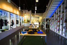 body + studio by Jay Ellis, Lafayette   USA store design