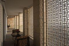 Aman New Dehi Guest Suite Veranda