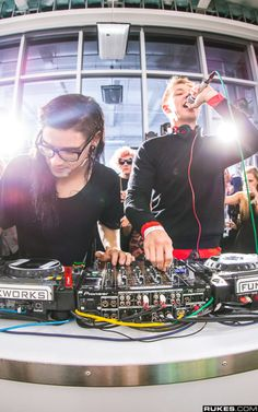 Skrillex and diplo if my thinkin is correct