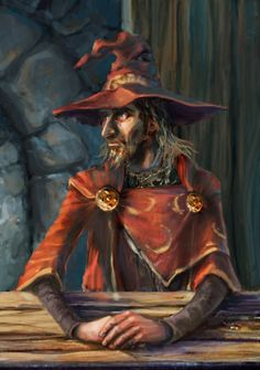Rincewind by Marbolotte.
