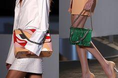 Da coloração metálica à pegada esportiva, veja as bolsas apresentadas na SPFW