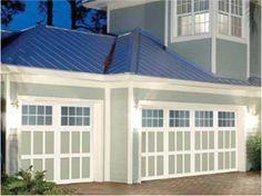 219 Best Exterior Paint Colors images | Exterior paint ... on Garage Door Color Ideas  id=45423