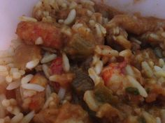 Spicy CRAWFISH or SHRIMP CREOLE * New Orleans style * Serve over white rice ** SO MUCH fantastic flavor, but is really fast & easy to make!  (fresh or frozen crawfish or shrimp)