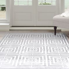 Liven up your living space with the Athens Area Rug. Cover up any blemishes in your carpet or make your hardwood floors feel cozy with the soft and luxurious feel of an area rug.