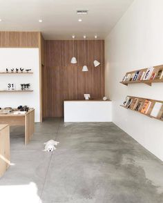 #FeatureFriday  Few days ago we stumbled on the profile of this little shop in Los Angeles @formerlyyes. The shop is very well designed and houses some of the best magazines and books about design lifestyle and travel.  Last but not the least the beautiful pendant lamps TILT by @nytalighting dominate the desk. _ #archiproducts #design #interiordesign