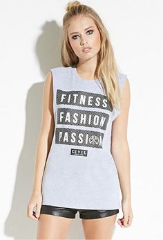Civil Fitness Fashion Muscle Tee | Forever 21 - 2000161370