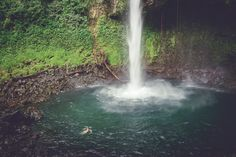 best things to do in costa rica waterfalls and hot springs