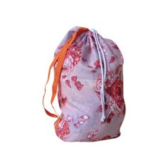 Pink swimming bag | Emma Makes $39 Fabric Bags, Bag Making, Drawstring Backpack, Vintage Fashion, Swimming, How To Make, Pink, Handmade, Collection