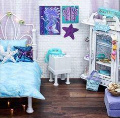 American Girl Bedrooms, American Girl House, American Girl Doll Room, American Girl Doll Pictures, American Girl Furniture, American Girls, Kids Room Bed, Girl Room, Ag Doll House