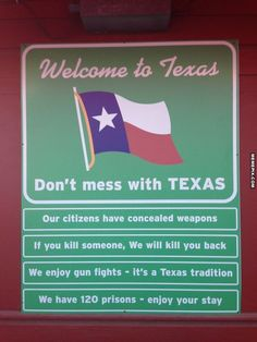 Welcome to Texas please don't move here