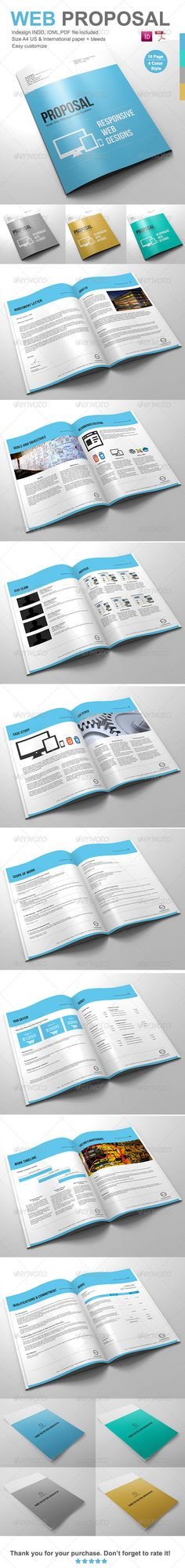 Clean Digital Marketing Proposal  Marketing Proposal Proposal